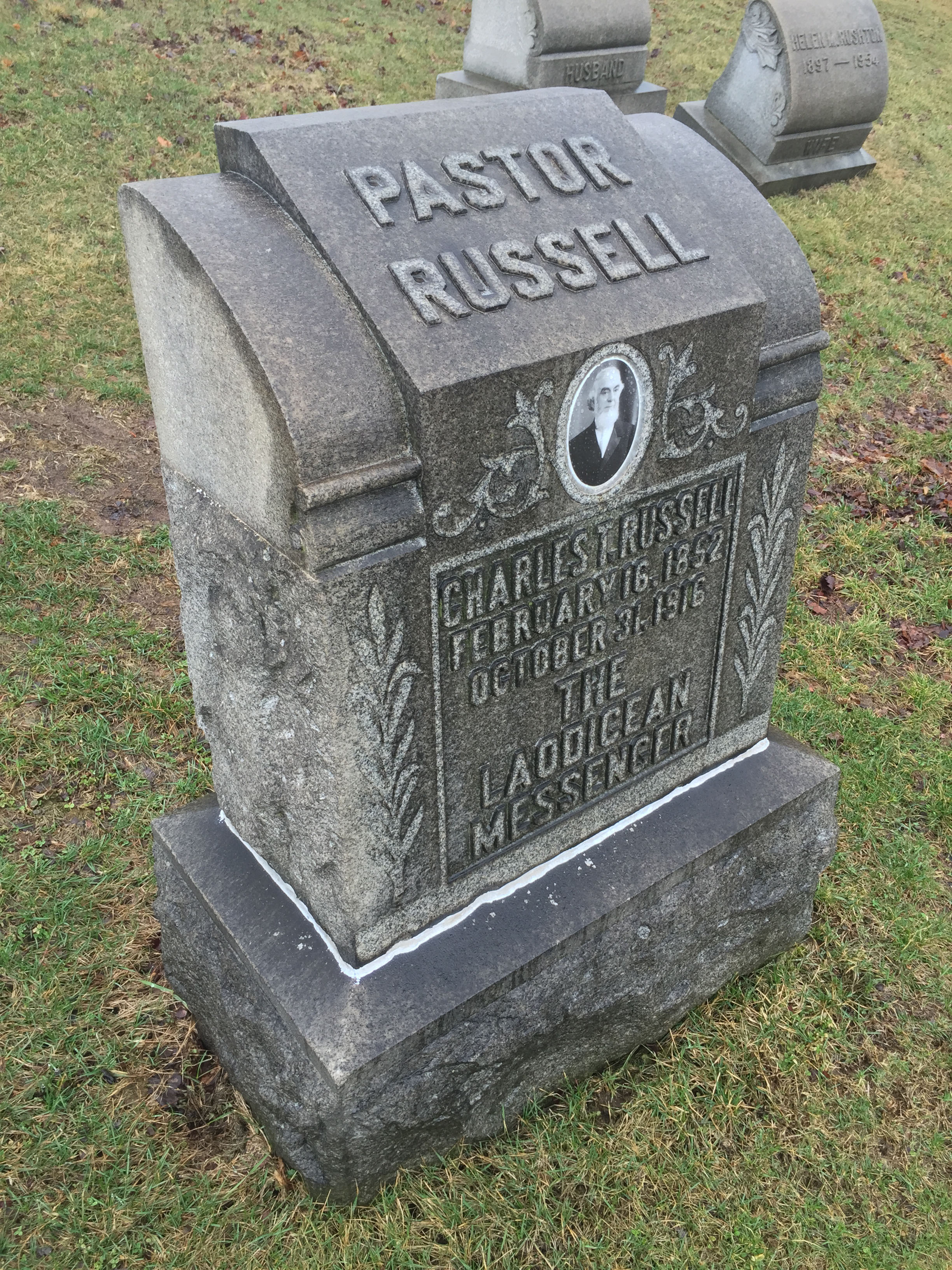 Charles Taze Russell's Grave Site Pyramid | The Jehovah's